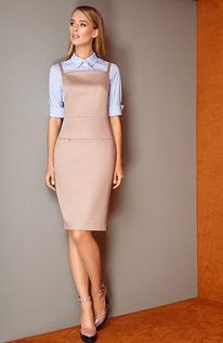 Комплект L4217 Платье, блузка