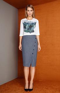 Комплект L2318 Блузка, юбка