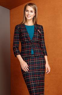 Комплект L3291 Жакет, юбка, блузка